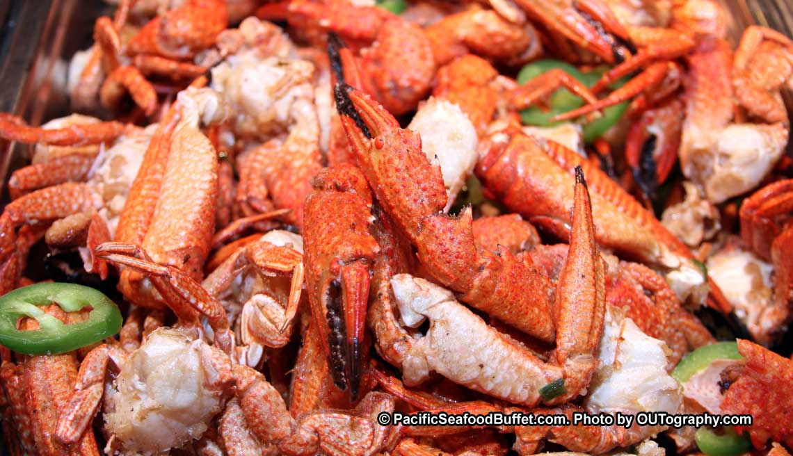 All You Can Eat Fresh Crab At Pacific Seafood Buffet Restsaurant In Arizona